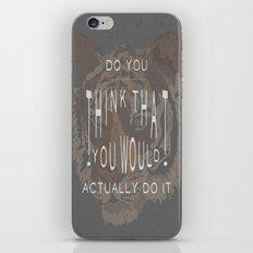 ANALOG: TONY, THE TIGER iPhone & iPod Skin