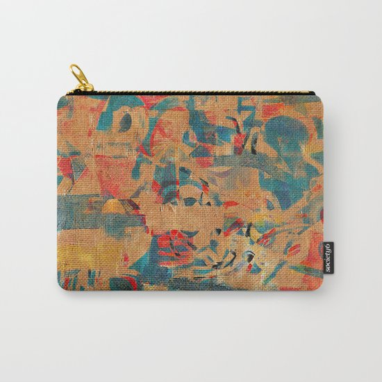 Tribal Wall Carry-All Pouch