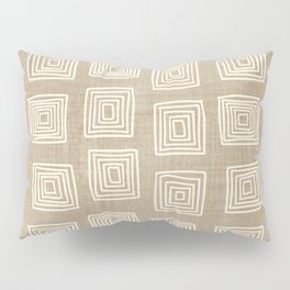 Labyrinth in Tan Pillow Sham