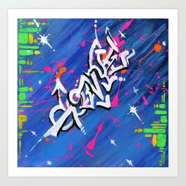 """""""GOONYE"""" Art Print"""