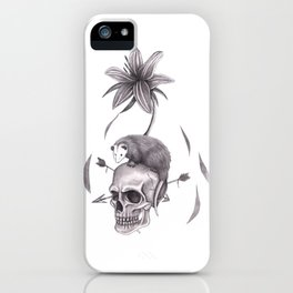 Spring Emergence in White iPhone Case