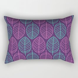 Leaf outlines Rectangular Pillow