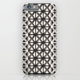 B&W Tribal iPhone Case