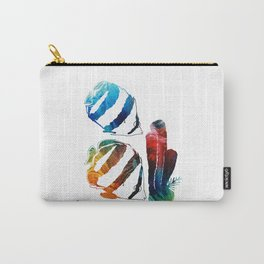 Angel Fish Art - Little Angels 2 - By Sharon Cummings  Carry-All Pouch