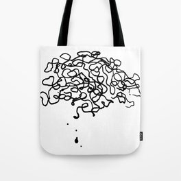 Spooky Action at a Distance Tote Bag