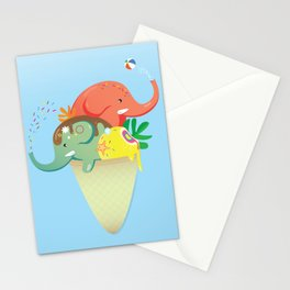 summer cone Stationery Cards
