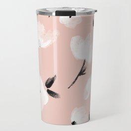 Brushed Florals Travel Mug