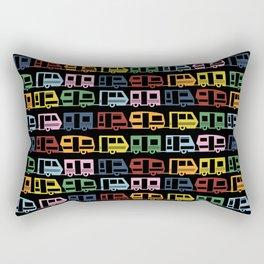 Camp Black Rectangular Pillow