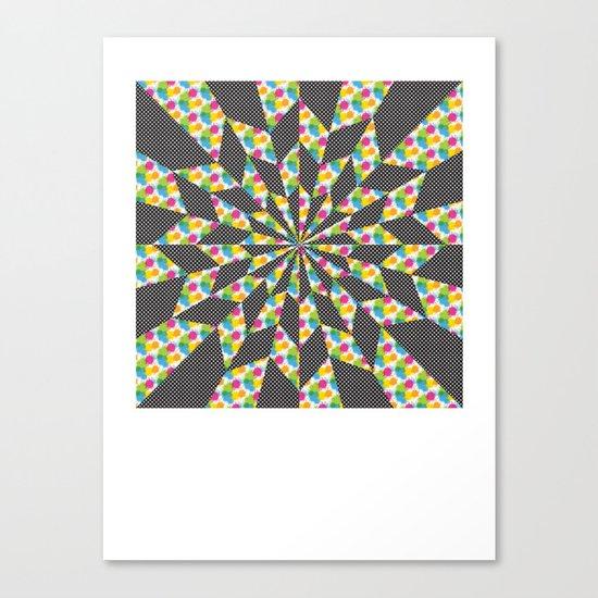 Kaleidoscope - Optical work 4 Canvas Print