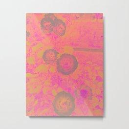 Burnt Roses Metal Print