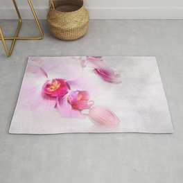 Colurful Orchid Rug