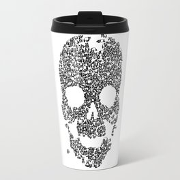 Panda is cool/skull Travel Mug