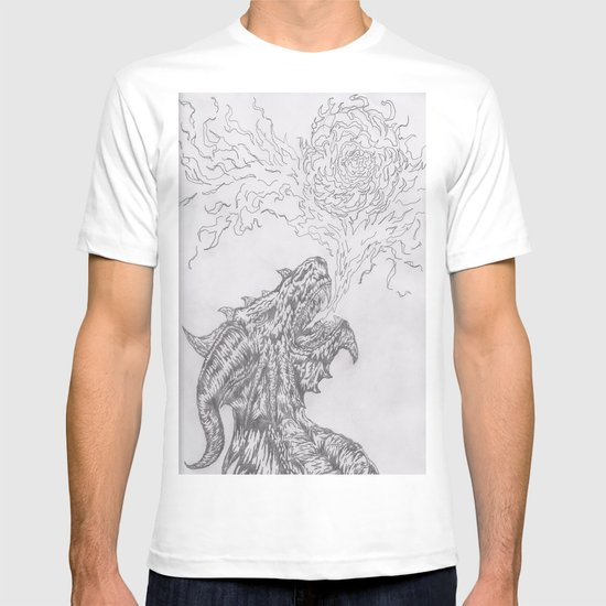 dragon fire artist T-shirt