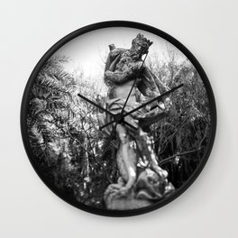 Antiquated Poise Wall Clock