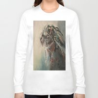 clover Long Sleeve T-shirts featuring Clover by GENNYGOODMAN