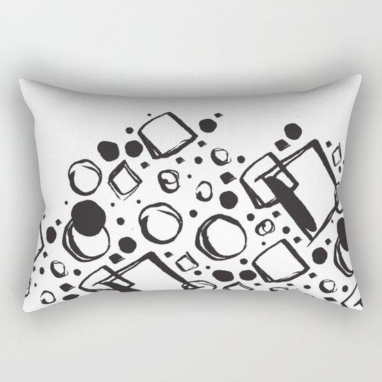 ABSTRACT 011 Rectangular Pillow
