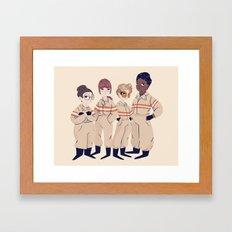 Busters Framed Art Print