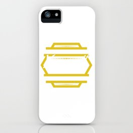 Funny Overthink Tshirt Design Just let it be iPhone Case