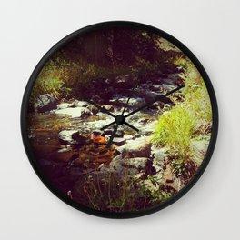 Healing Waters Wall Clock