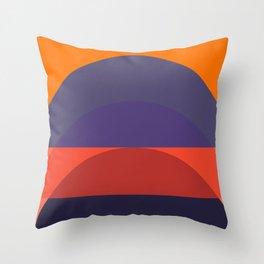 Spring- Pantone Warm color 05 Throw Pillow