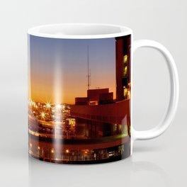 Airport Sunset Time Lapse Coffee Mug
