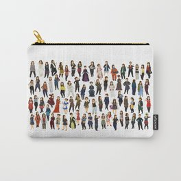 Every Clara Outfit Ever Carry-All Pouch