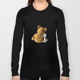 DIDI hugs his teddy bear Long Sleeve T-shirt
