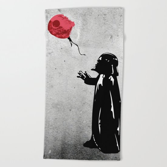 Little Vader - Inspired by Banksy Beach Towel