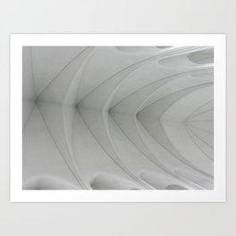 Vaulted Art Print