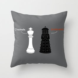 Ultimate Checkmate Throw Pillow