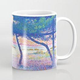 """Henri-Edmond Cross """"La Plage de Saint-Clair"""" Coffee Mug"""