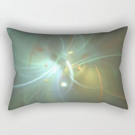 Holiday Glow Fractal Rectangular Pillow