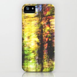speed of fall iPhone Case