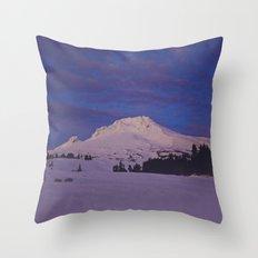 Mt. Hood, Oregon Throw Pillow