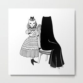 Secret Mother Metal Print