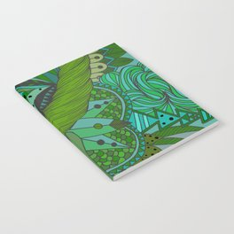 Ornate pattern- coloured 2 Notebook