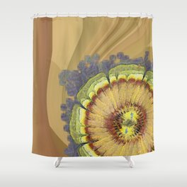 Aware Concord Flower  ID:16165-131626-59460 Shower Curtain