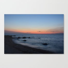 Greenport Sunset Canvas Print