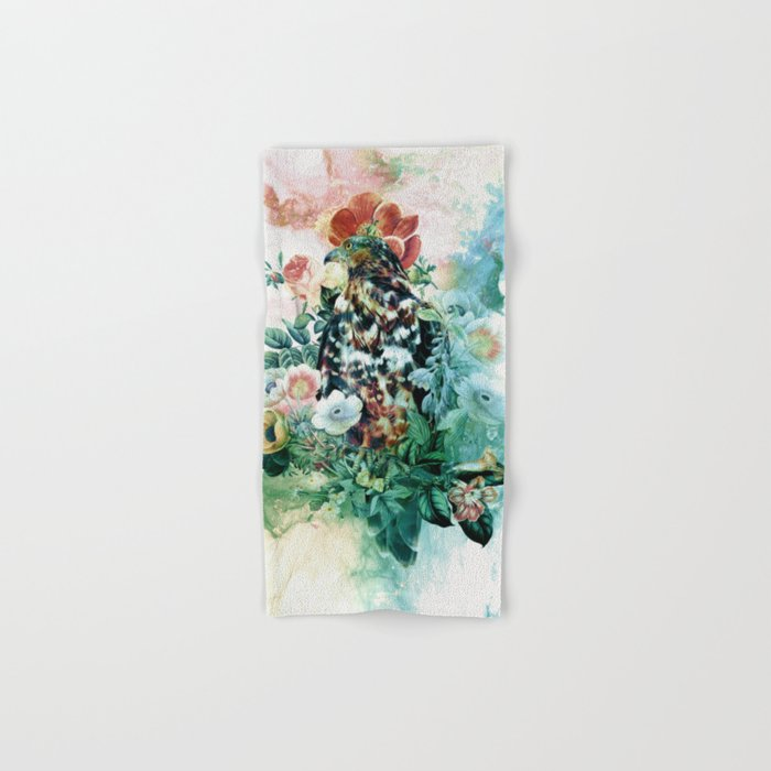 Bird in Flowers Hand & Bath Towel