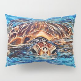 """Honu"" Pillow Sham"