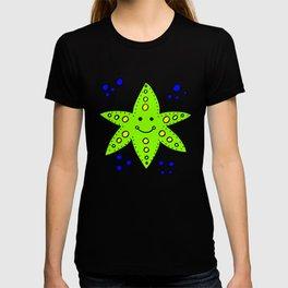 childishly Hand drawn starfish T-shirt