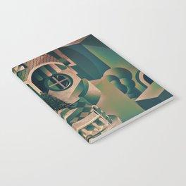 Utopia Skull 1 Notebook