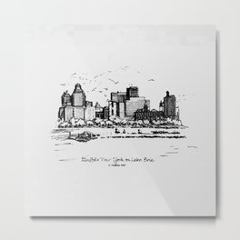 Buffalo By AM&A's 1987 Metal Print