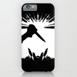 Slashing Knife In Hand iPhone Case
