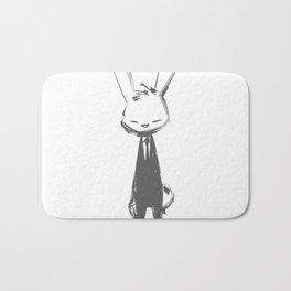 minima - beta bunny pose Bath Mat