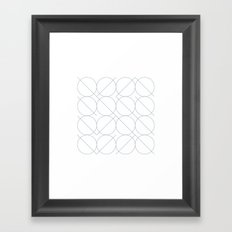 #531 I/O – Geometry Daily Framed Art Print