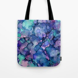 Abstract Alcohol Ink Painting 2 Tote Bag