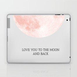 Moon 01 Laptop & iPad Skin