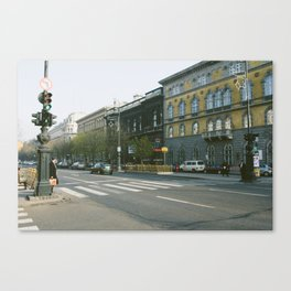 Andrássy út Canvas Print