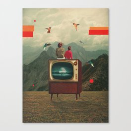 Mother Protect Me from the Sadness of this World Canvas Print